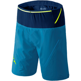 Dynafit Ultra 2-in-1 Shorts Heren, mykonos blue